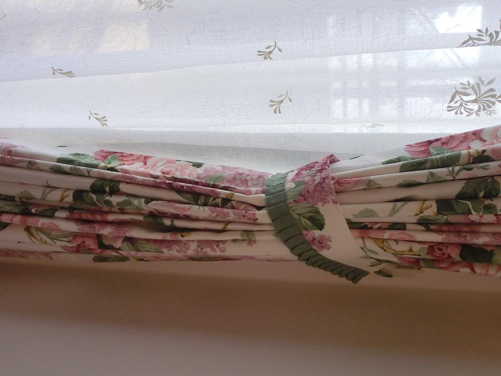薔薇のカーテン