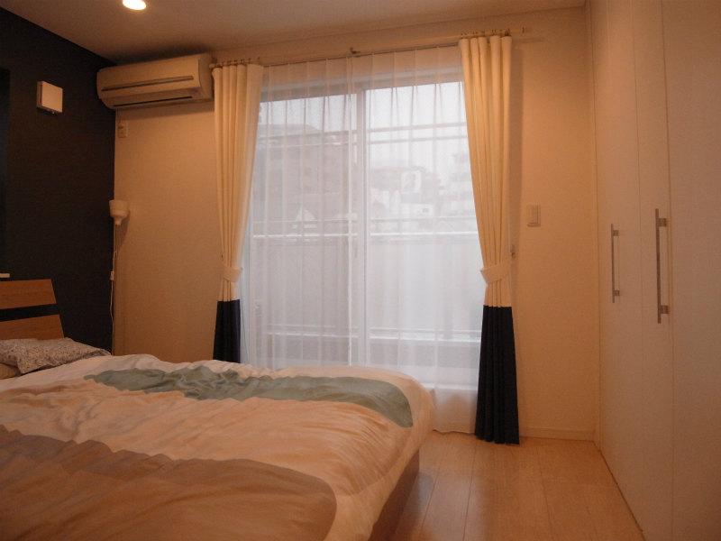 寝室 シンプルモダン