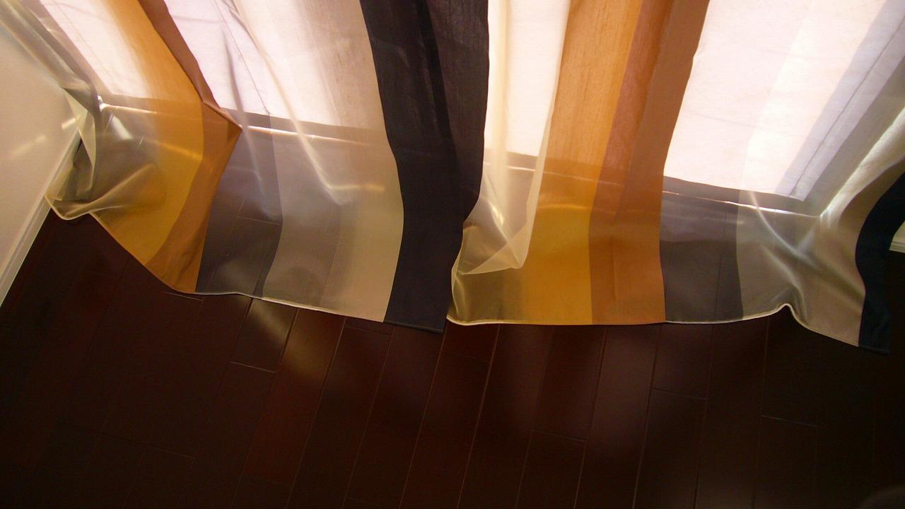 ルーズタイプ カーテン裾