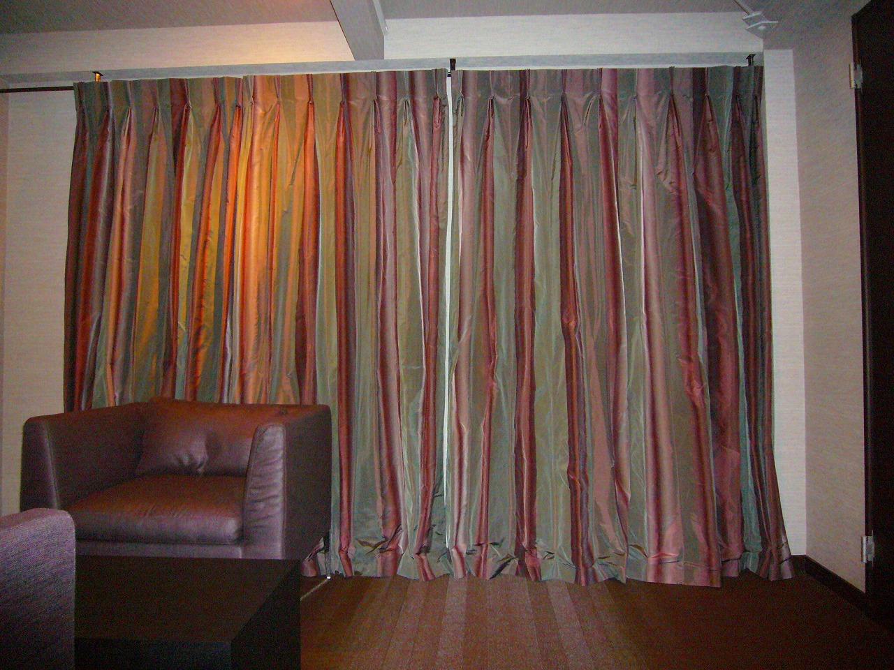 ジムトンプソン シルクカーテン